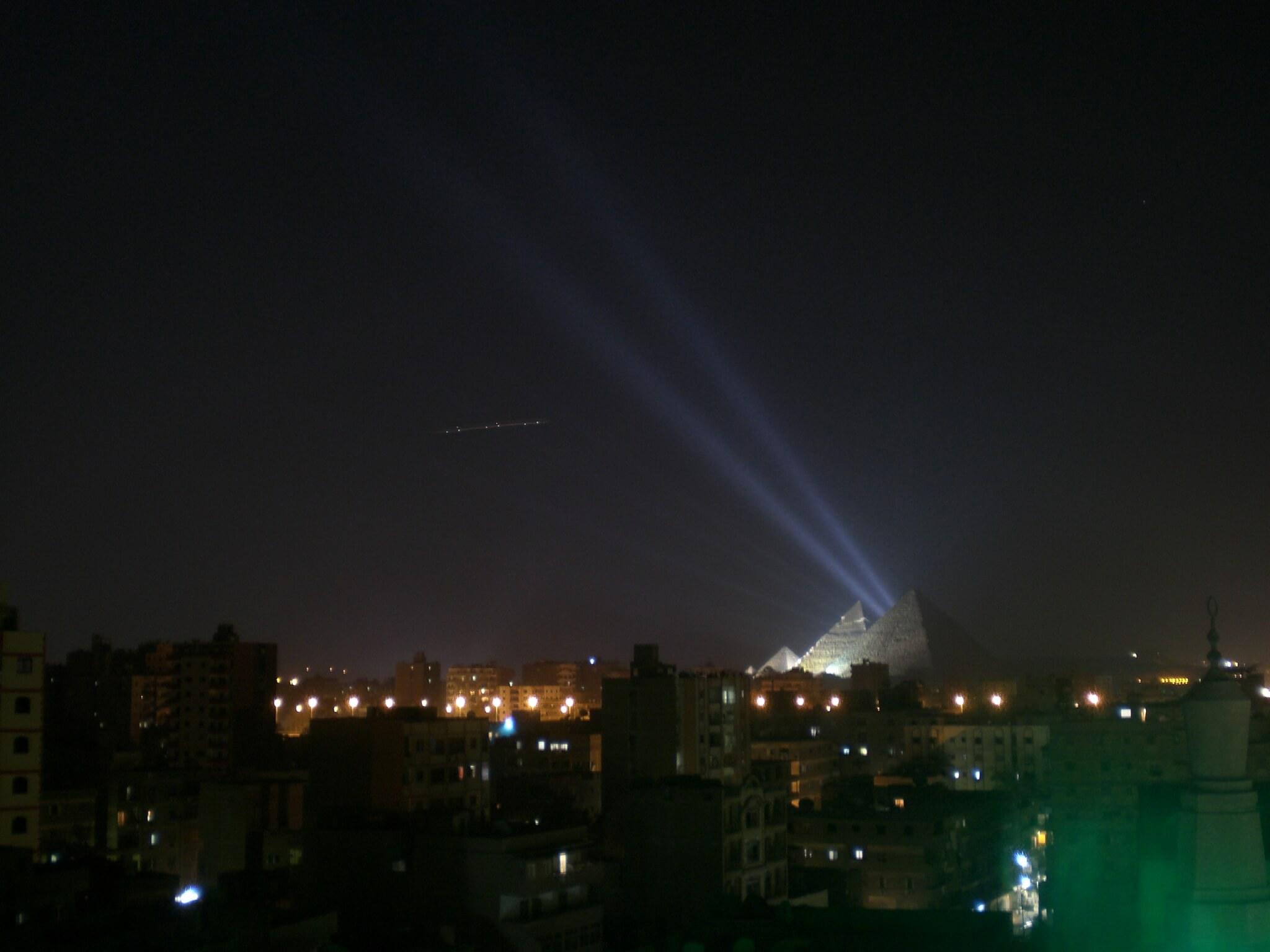 עבמ חללית אם בקהיר בצד שמאל 2009